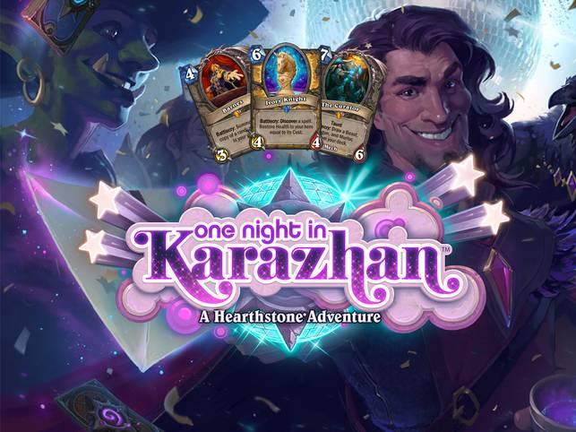 Mit One Night in Karazhan kommen 45 neue Karten ins Spiel. Jede Woche wird ein neuer Flügel des Soloabenteuers freigeschaltet