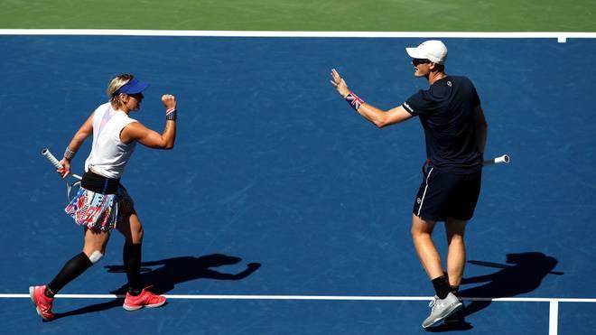 Jamie Murray und Bethanie Mattek-Sands haben den US-Open-Titel im Mixed gewonnen