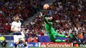 Mit acht Paraden stellte Alisson den Rekord von Edwin van der Sar in einem Champions-League-Finale ein