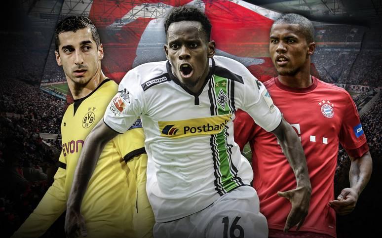 Sie sind die Vorbereiter und Vollstrecker, Abräumer und Strategen: Klicken Sie sich durch die Top 10 der notenbesten Mittelfeldspieler mit mindestens zehn Einsätzen in der Hinrunde und erfahren Sie, welchen Bayern und Dortmundern sich Gladbachs Ibrahima Traore geschlagen geben muss