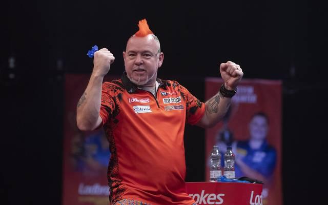 Peter Wright wurde 2020 zum ersten Mal Darts-Weltmeister
