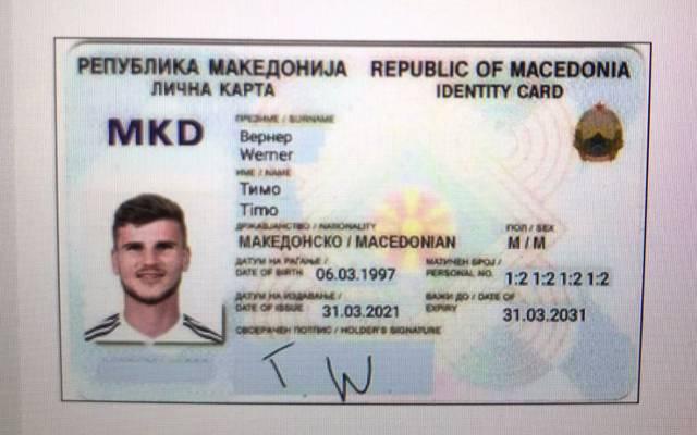 So stellt sich Vecer den mazedonischen Pass Timo Werners vor