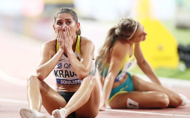 Bei der WM in Doha holte Gesa Krause im vergangenen Oktober die WM-Bronzemedaille