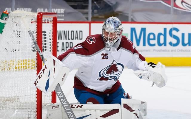 Philipp Grubauer ist der NHL-Star der Woche