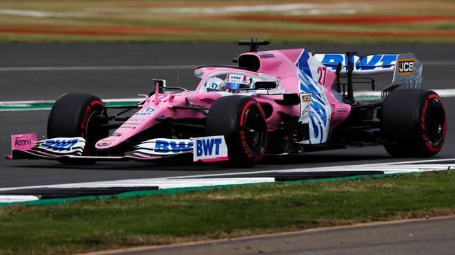 Nico Hülkenberg startet in Silverstone von Platz drei