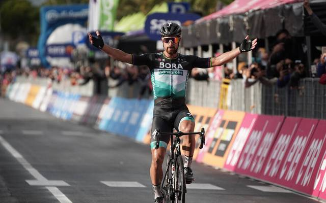 Peter Sagan war auf der zehnten Etappe des Giro d'Italia nicht zu schlagen