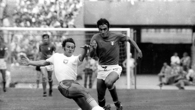 Petro Anastasi (re.) traf auch im EM-Finale von 1968