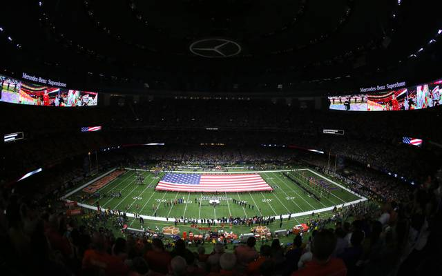 Die New Orleans Saints suchen einen neuen Namenssponsor für den Superdome
