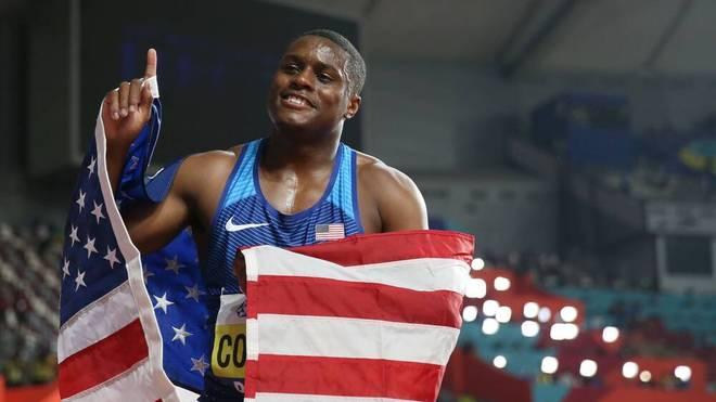 Christian Coleman wurde 2019 Weltmeister über 100 Meter