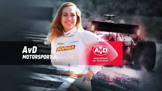 Sophia Flörsch ist im AvD Motorsport Magazin zu Gast