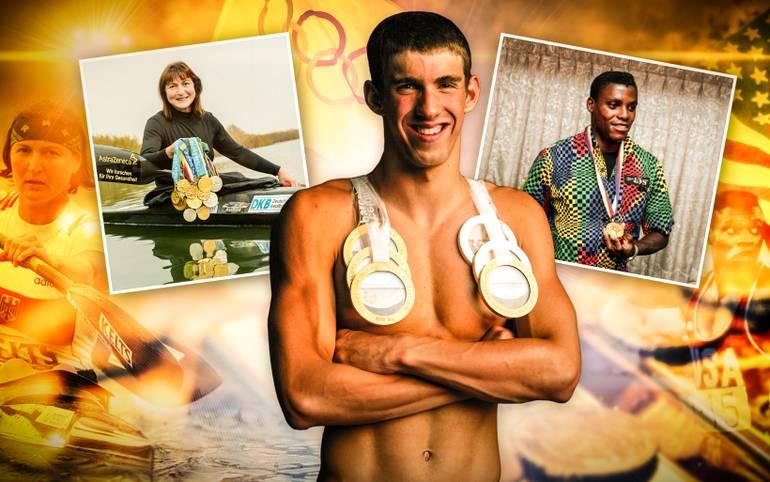"""""""Dabei sein ist alles"""" - der olympische Gedanke hat auch im 21. Jahrhundert weiter Bestand. In Erinnerung bleiben von den Olympischen Spielen jedoch meist die Medaillengewinner. SPORT1 zeigt die erfolgreichsten Olympioniken"""