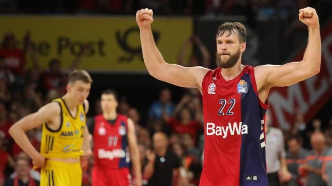 Danilo Barthel trifft mit dem FC Bayern Basketball auf Maccabi Tel Aviv