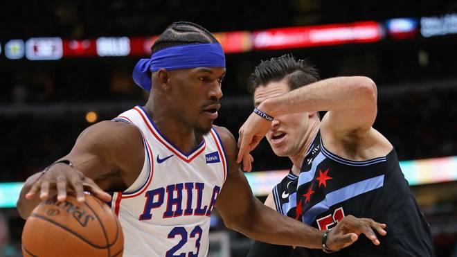 Jimmy Butler (l.) war in der vergangenen Saison einer der Ninja-Stirnbandträger