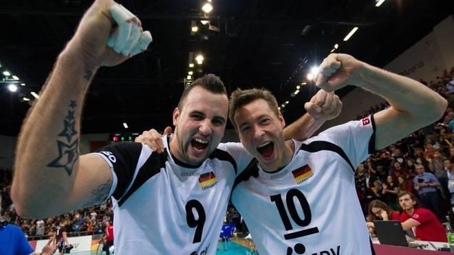 Jochen Schöps und Georg Grozer feierten im DVV-Team große Erfolge