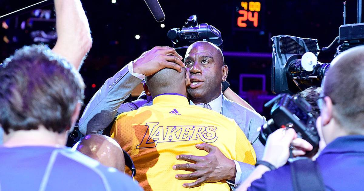 NBA: Magic Johnson und Co. gedenken Kobe Bryant bei All-Star Game