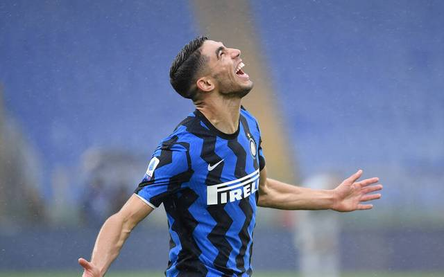 Achraf Hakimi erzielte gegen den AS Rom ein Traumtor