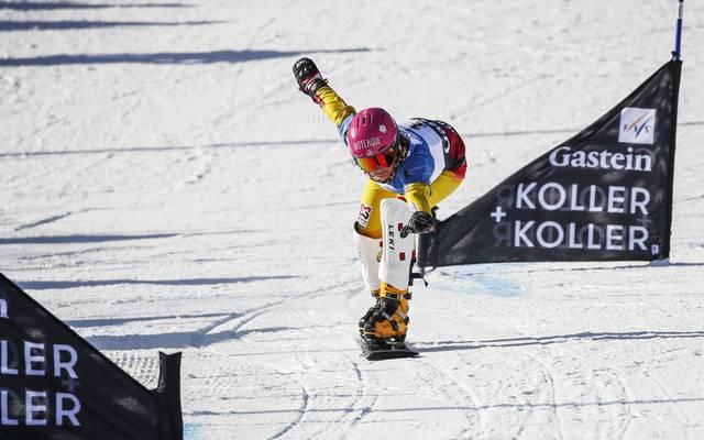 Ramona Hofmeister ist aktuell Deutschlands beste Snowboard-Fahrerin