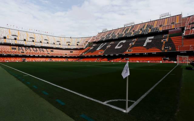 Der FC Valencia bestreitet das Achtelfinal-Rückspiel in der Champions League gegen Atalanta Bergamo vor leeren Rängen