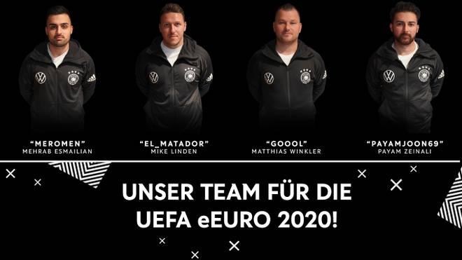 Diese vier Spieler vertreten Deutschland bei der Qualifikation zur UEFA eEuropameisterschaft.