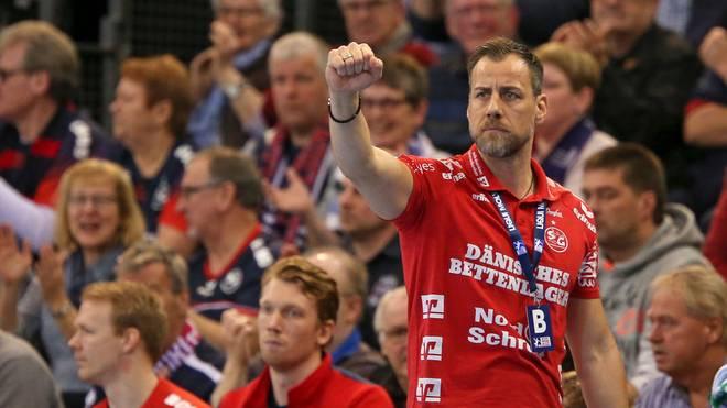 Maik Machulla will mit Flensburg den nächsten Sieg