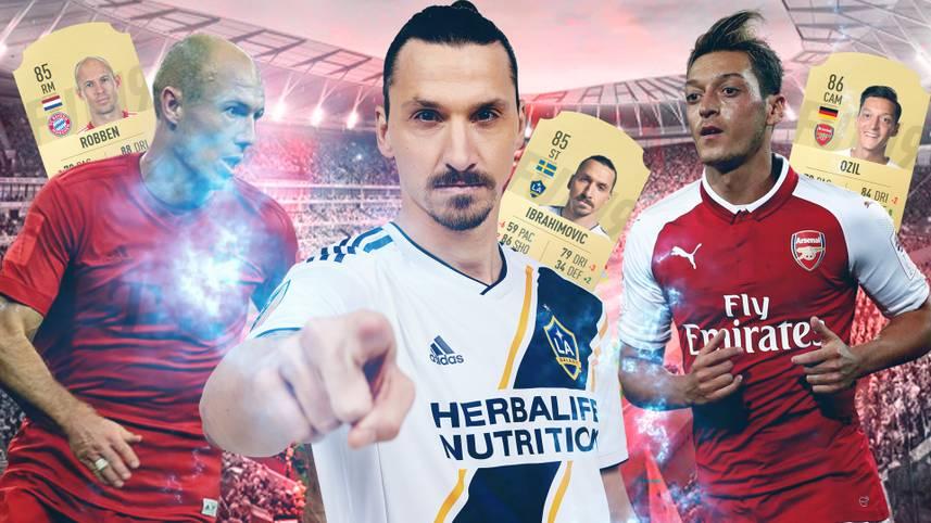 Die Spieler-Ratings der beliebtesten Fußballsimulation FIFA sorgen jedes Jahr für Diskussionsbedarf. SPORT1 zeigt die Top-Stars, welche in FIFA 19 schlechter geworden sind