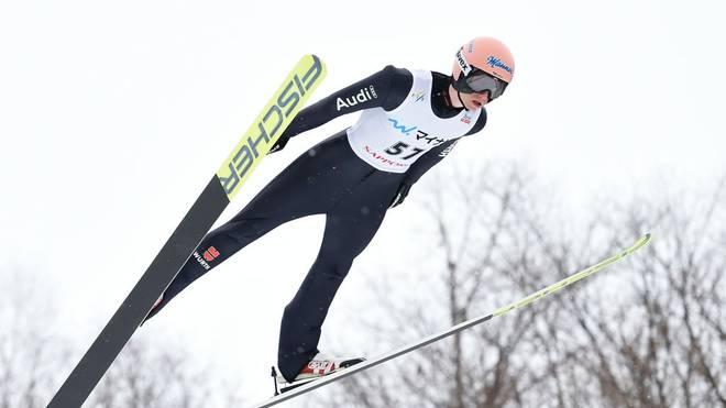 Karl Geiger führt das deutsche Team beim Weltcup in Willingen an