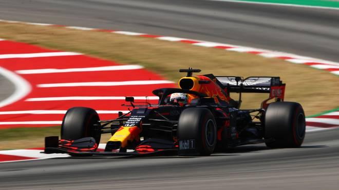 Max Verstappen startet beim Großen Preis von Spanien von Platz drei