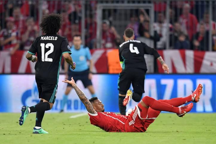 Jerome Boateng erleidet gegen Real Madrid eine Muskelverletzung im Oberschenkel, die Teilnahme an der WM wird für den Bayern-Star zum Wettlauf gegen die Zeit
