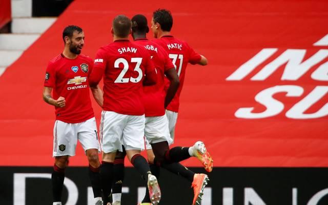 Manchester United feierte gegen AFC Bournemouth einen deutlichen Sieg