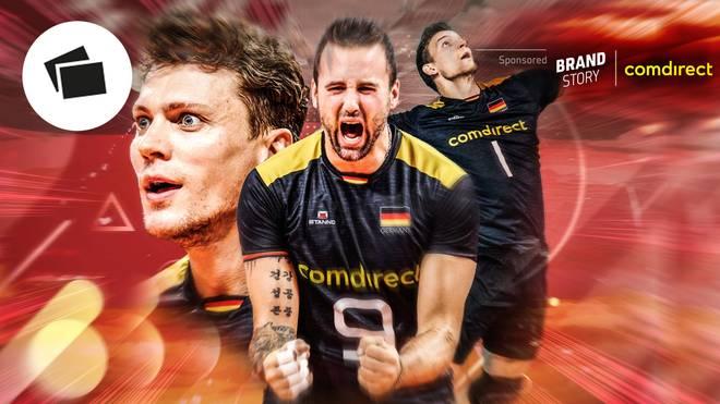 Georg Grozer (M.) will Deutschland zu Olympia führen