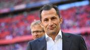MUNICH, GERMANY - SEPTEMBER 21: Sporting director Hasan Salihamidzic of Bayern Munich looks on prior to the Bundesliga match between FC Bayern Muenchen and 1. FC Koeln at Allianz Arena on September 21, 2019 in Munich, Germany. (Photo by Sebastian Widmann/Bongarts/Getty Images)