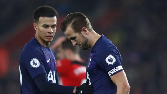 Harry Kane verletzte sich im Spiel beim FC Southampton