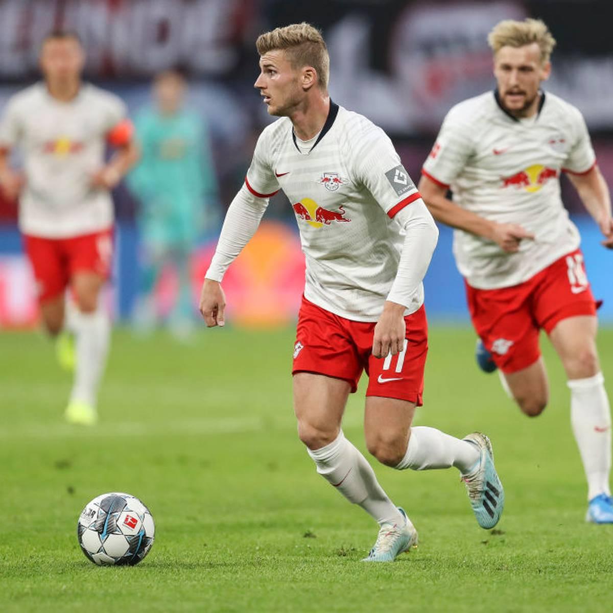 RB stürmt mit Poulsen und Werner