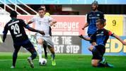 Robert Lewandowski im Spiel gegen den SC Paderborn