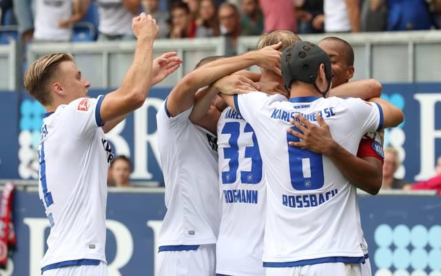 SV Wehen Wiesbaden v Karlsruher SC - Second Bundesliga
