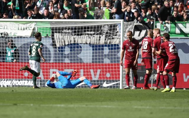 Der 1. FC Nürnberg darf sich nur noch leise Hoffnungen auf die Relegation machen