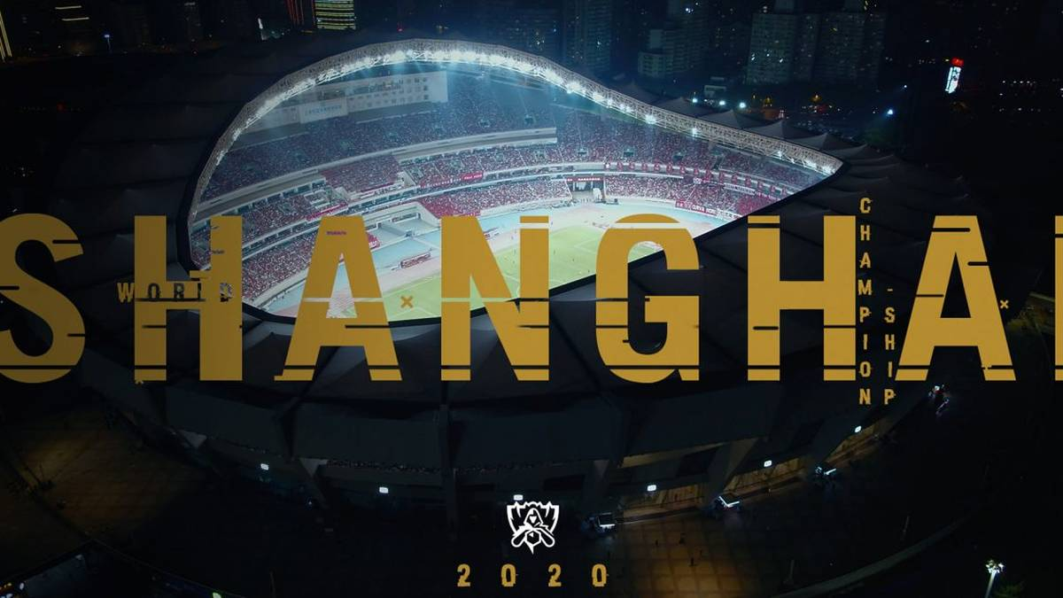 Das Finale League of Legends WM wird im Pudong Soccer Stadium ausgetragen