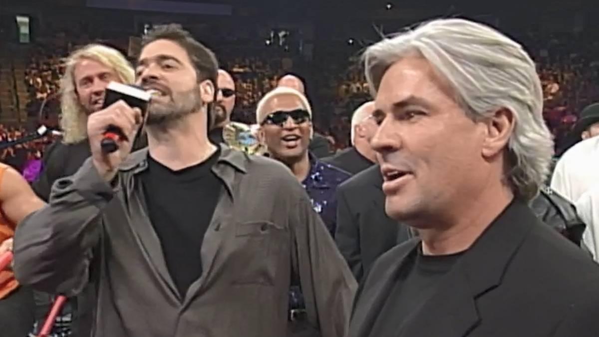 Vince Russo und Eric Bischoff sollten WCW 2000 gemeinsam retten - und scheiterten