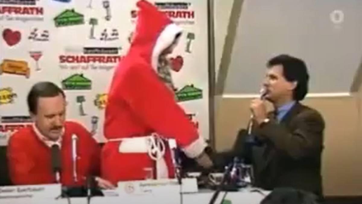 Die wohl verrückteste Pressekonferenz der Ligahistorie