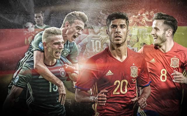 Die deutsche U-21-Nationalmannschaft trifft im EM-Finale auf Spanien