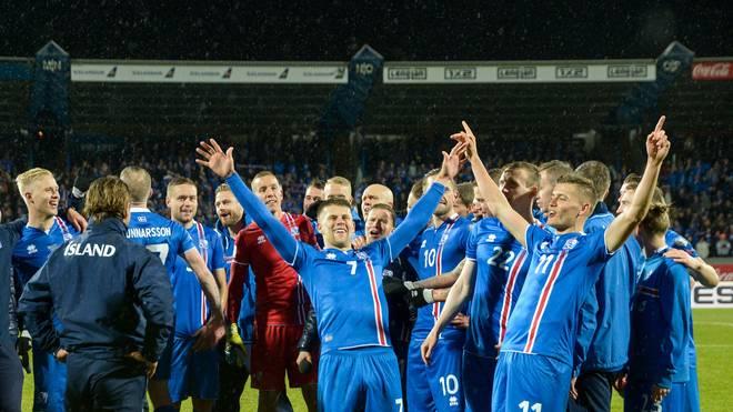 Island qualifizierte sich erstmals für eine WM-Endrunde