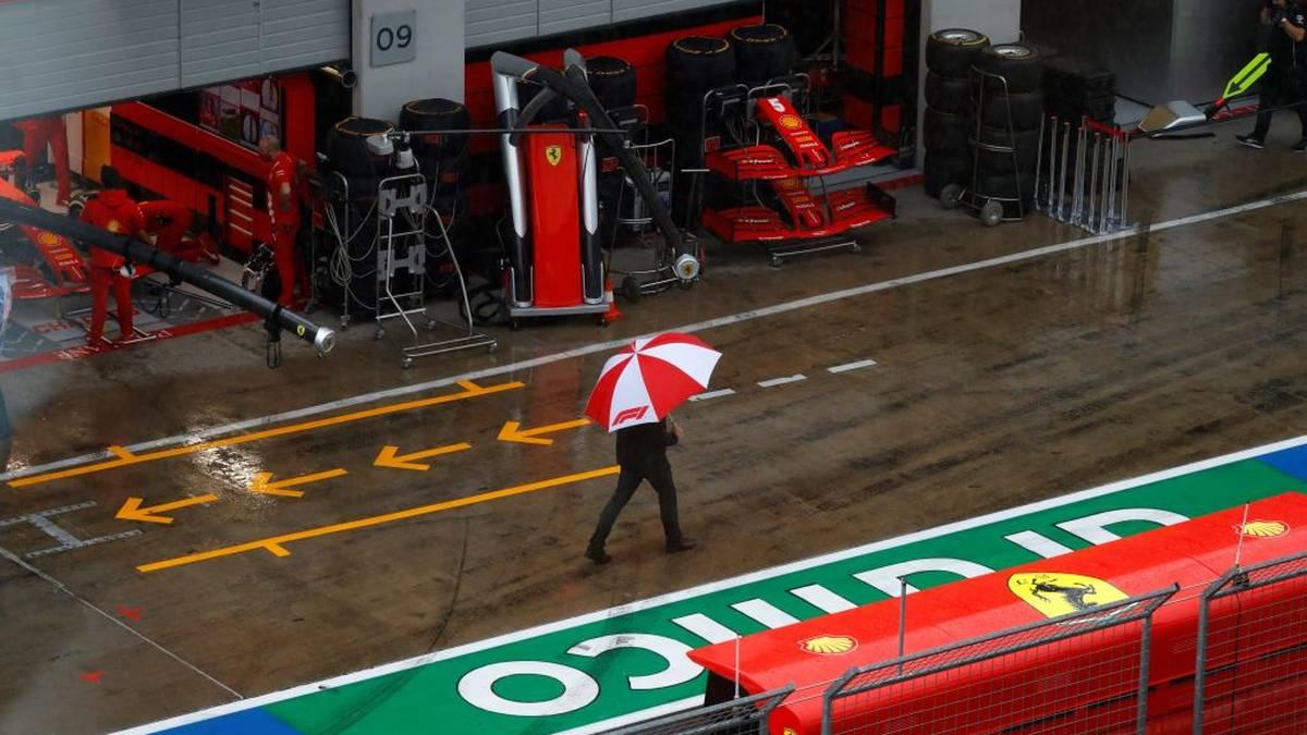 Führt der Regen zur Absage des Qualifyings?