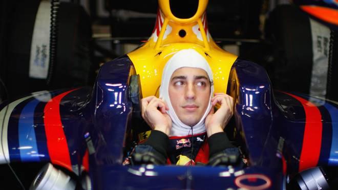 F1 Young Drivers Testing - Day Three Bereits ab 2009 fuhr Daniel Ricciardo für Red Bull als Testfahrer