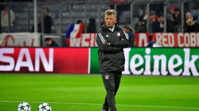 Peter Hermann war viele Jahre für den FC Bayern tätig