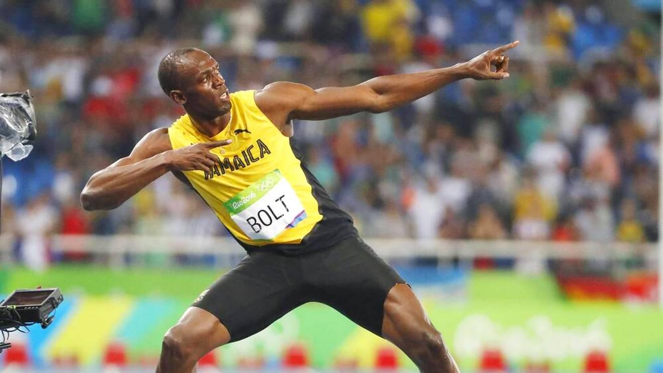 Usain Bolt hält den Weltrekord über 100 und 200 Meter