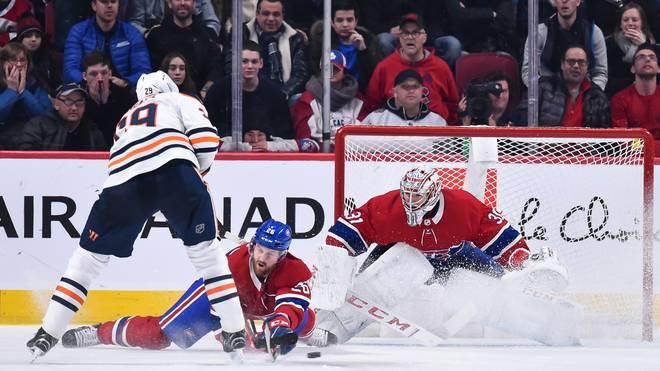 Leon Draisaitl kassierte mit den Edmonton Oilers in Montreal die fünfte Pleite in Folge