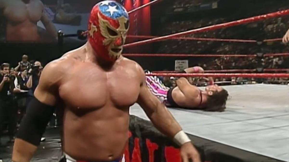 """""""The Patriot"""" Del Wilkes traf 1997 in seinem größten WWE-Match auf Bret """"The Hitman"""" Hart"""
