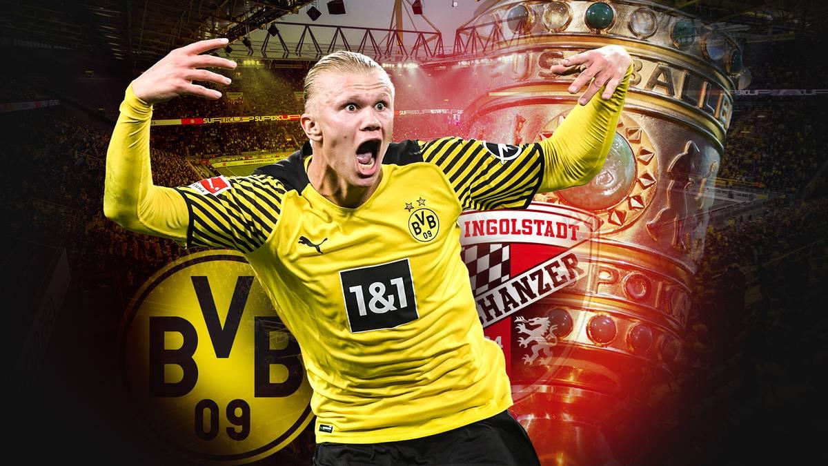 BVB im DFB-Pokal LIVE auf SPORT1