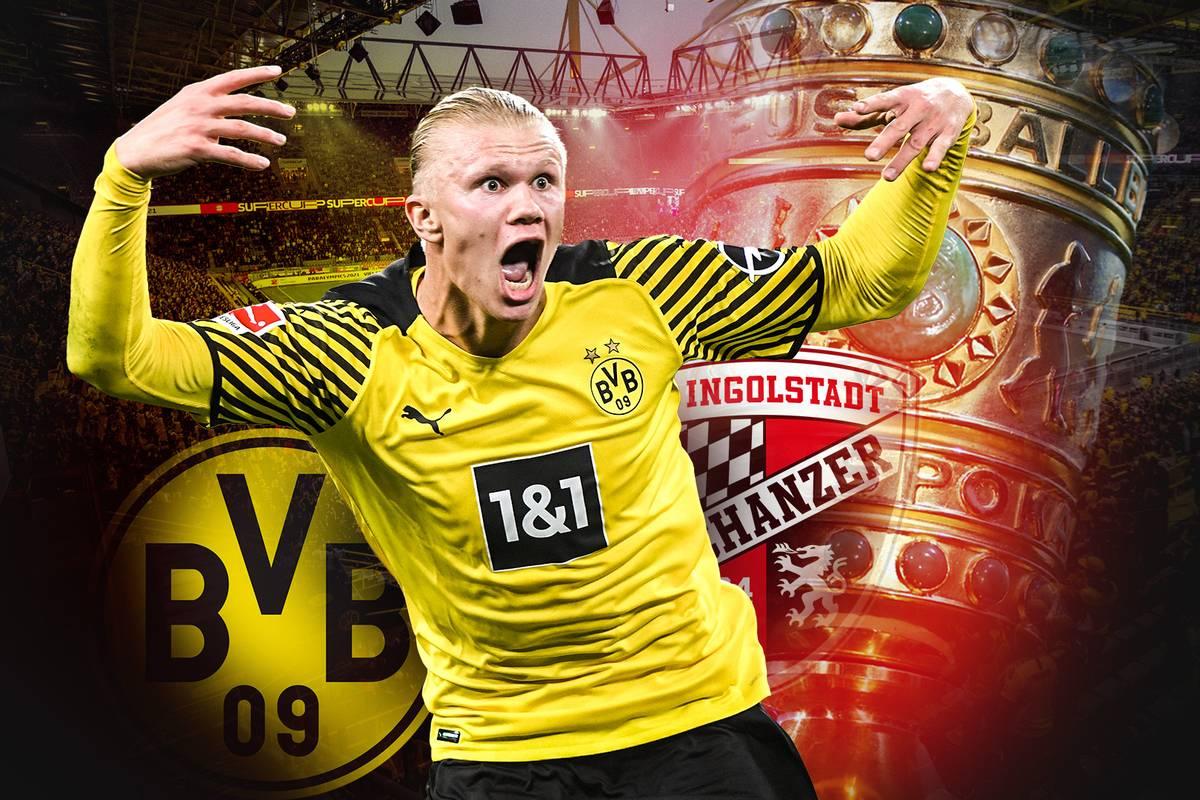 Titelverteidiger Borussia Dortmund will im DFB-Pokal die nächste Hürde nehmen. SPORT1 zeigt das Duell mit dem FC Ingolstadt live im TV und Stream.
