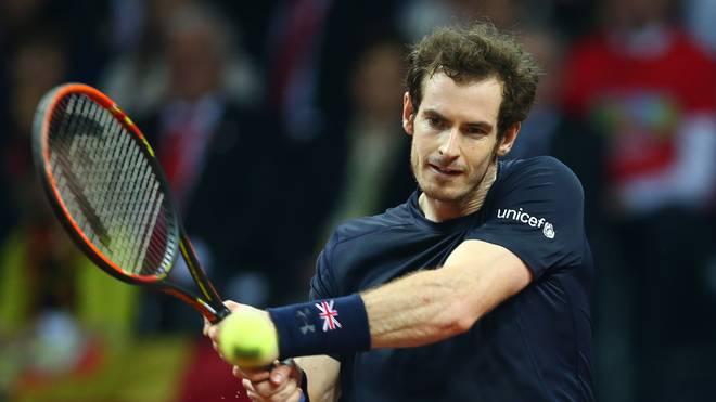 Andy Murray wird im Februar zum ersten Mal Vater